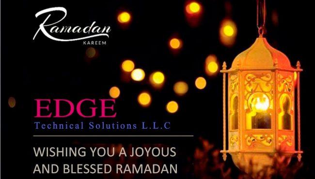 Ramadan Greetings – EDGE Technical Solutions