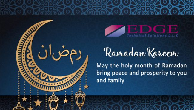 Ramadan Greetings – from EDGE Technical Solutions