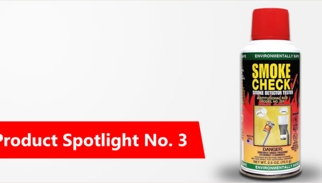Product Spotlight No.3 – HSI Smoke Detector Tester Sprays