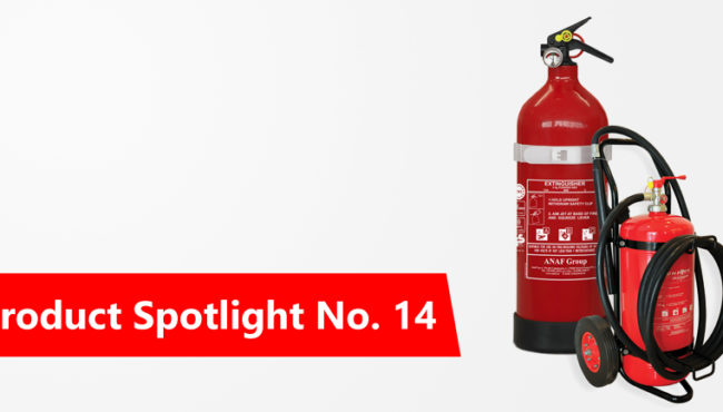 Product Spotlight No.14: Fire Extinguishers – by ANAF (Italy)