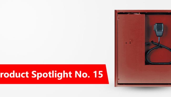 Profuct Spotlight No.15: CONVENTIONAL VOICE EVACUATION SYSTEM
