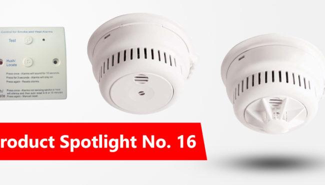 Product Spotlight No: 16 MAINS POWERED SMOKE ALARMS WITH INTERLINKING