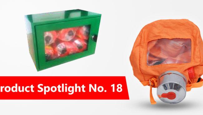 Product Spotlight No 18: Resguardo Smoke Hoods – Leave No One Behind!