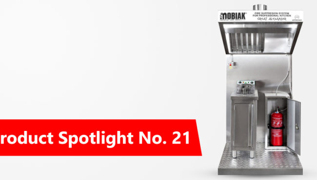 Product Spotlight No. 21: Kitchen Hood Fire Suppression System (CD Approved)