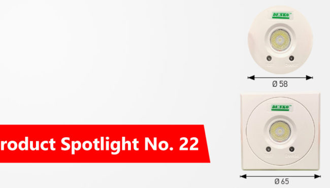 Product Spotlight No. 22: MINI RECESSED SELF CONTAINED EMERGENCY LIGHT