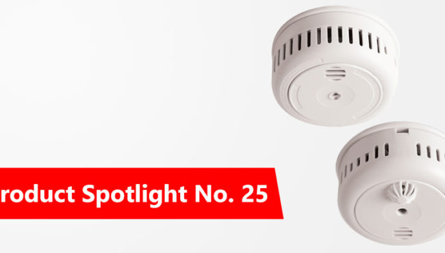 Product Spotlight No 25: Firehawk Standalone Battery Operated Smoke & Heat Alarms